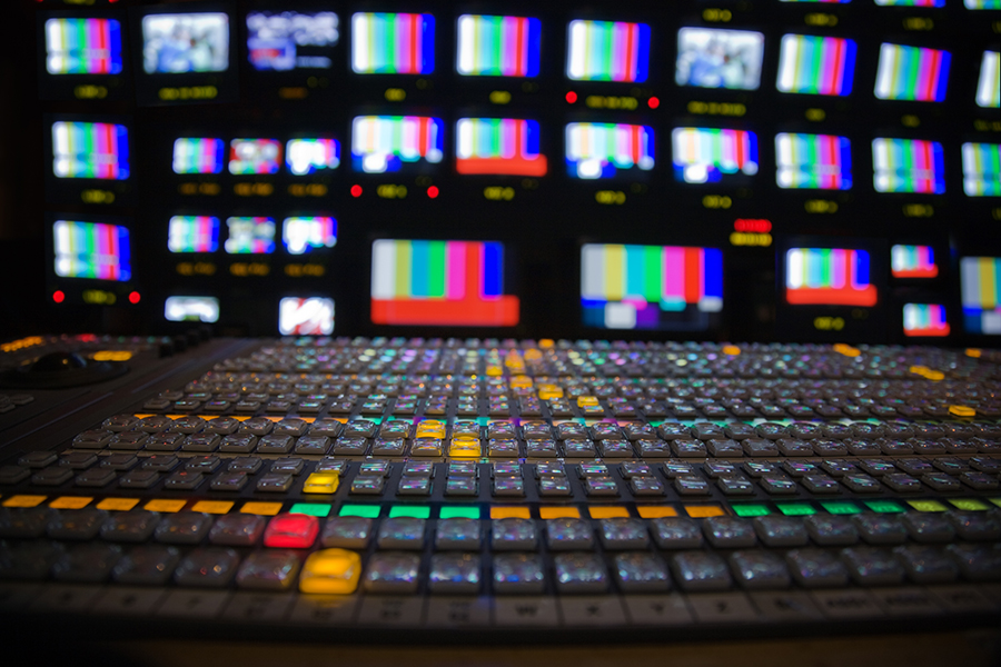 productora de cine o televisión